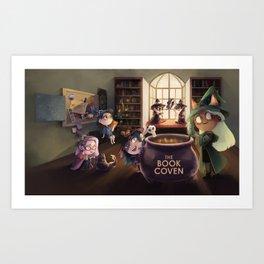The Book Coven Art Print