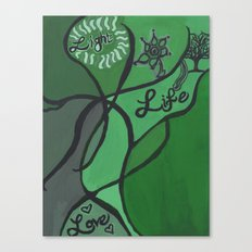 Light, Life, Love Canvas Print