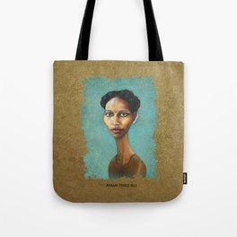 Portrait of Ayaan Hirsi Ali Tote Bag