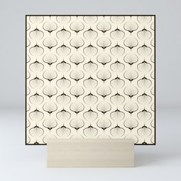 "Art Deco . No. 18 ""Shells."" Mini Art Print"