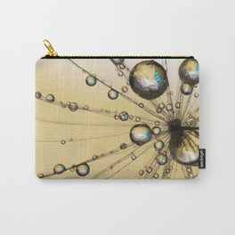 Single Dandy Seed Web Drops Carry-All Pouch