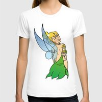 tinker bell T-shirts featuring Tinker Bell by NOBODY's Art