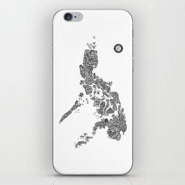 Paranormal Philippines (white) iPhone Skin