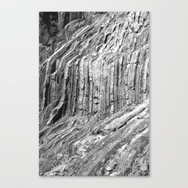 Flowing Cliffs Canvas Print