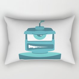 Grrr Bot Rectangular Pillow