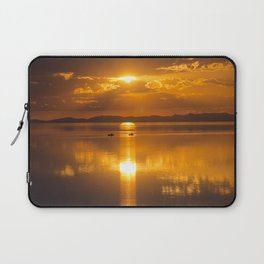 Golden Sunset  Laptop Sleeve
