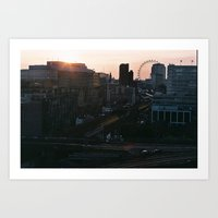 London Town Is Where I Want To Be Art Print