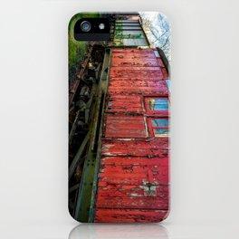 Old Train Wagon iPhone Case