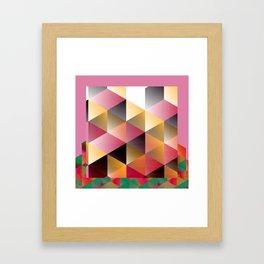 Geo 3 Framed Art Print