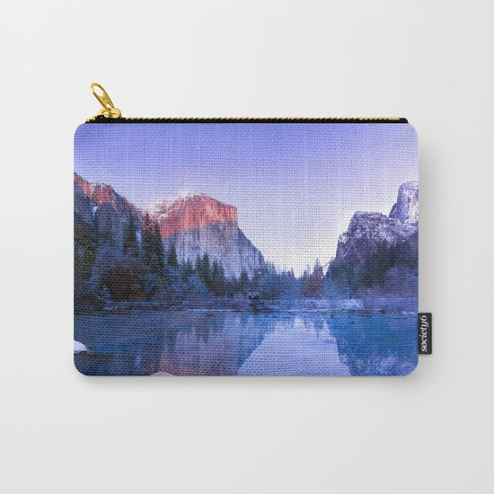 Yosemite Valley, USA Carry-All Pouch