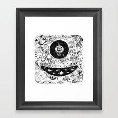 Inktober 2015 Framed Art Print