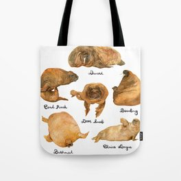 the furnished walrus Tote Bag