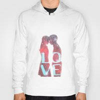 lovers Hoodies featuring Lovers by EclipseLio