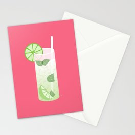 Mojito Rum Cocktail Stationery Cards