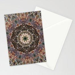 Mandala with ammonites Stationery Cards