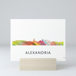 Alexandria, Virginia Skyline Mini Art Print