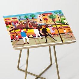 Palm Desert Side Table