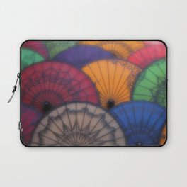 Burmese Old Paper Parasol Laptop Sleeve