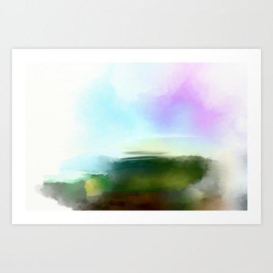 Land of dreams - Free shipping! Art Print