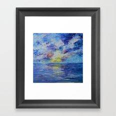 Reflection of Bliss Framed Art Print