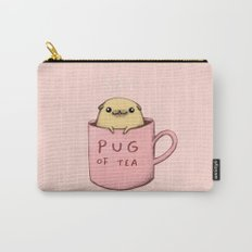 Pug of Tea Carry-All Pouch
