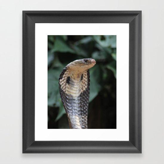 I am not slimey Framed Art Print
