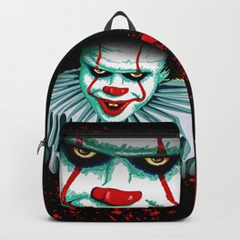 The Dancing Clown - Pennywise IT - Vector - Stephen King Character Backpack