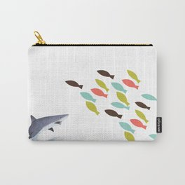 GME GameStop Big sharks and Small Fishes Carry-All Pouch