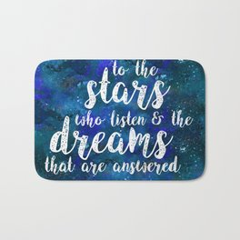 Dreams That Are Answered Bath Mat