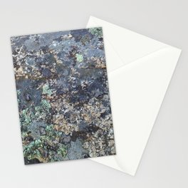 Mossy Rock Stationery Cards