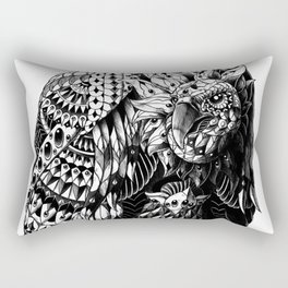 Vulture Rectangular Pillow