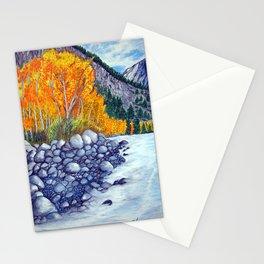 Along the lake.. Stationery Cards
