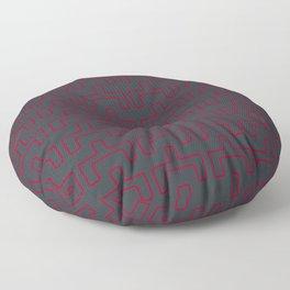 Abstract Mod Tribal Pattern Floor Pillow