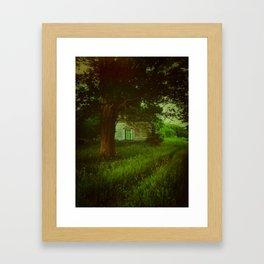 Emerald Abode Framed Art Print