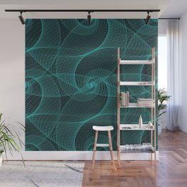 The Great Spiraling Unknown Wall Mural