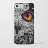anaconda iPhone & iPod Cases featuring YOU'RE THE ORANGE OF MY EYES by Catspaws