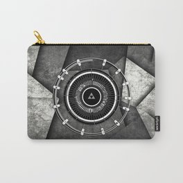 Zelda Line Triforce Carry-All Pouch