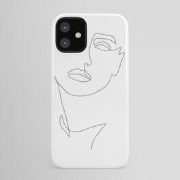 Triple Face Line iPhone Case