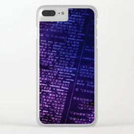Words Clear iPhone Case