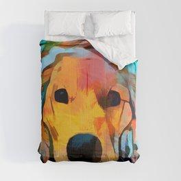 Golden Retriever 4 Comforters