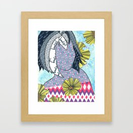 Never Be Anyone But Yourself (You Are Beauiful) Framed Art Print