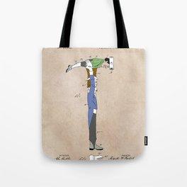 patent Hammer Tote Bag