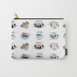 // twin peaks // Carry-All Pouch