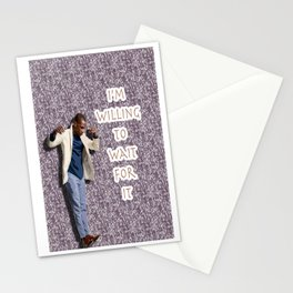 Leslie Odom Jr. (with Burr Quote) Stationery Cards