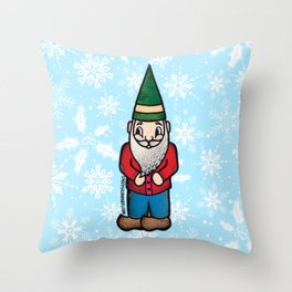 You Don't Gnome Me Throw Pillow
