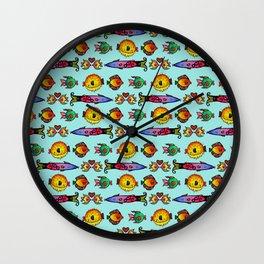 Kissy Fish Wall Clock