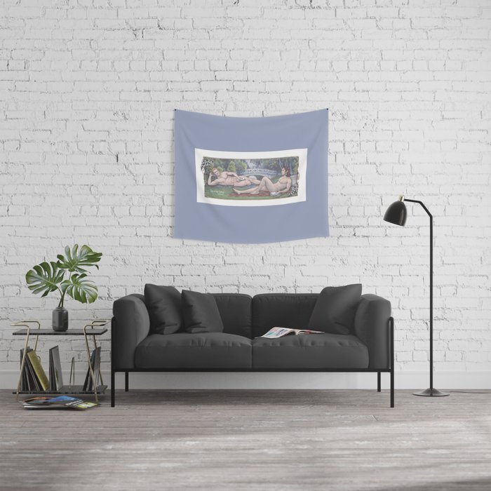 Lily of the Valley Wall Tapestry