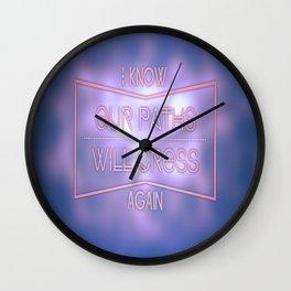 See ya later! Wall Clock