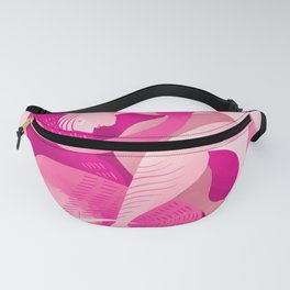 Pride Flag Colors: PINK / sex Fanny Pack