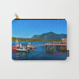 Tofino Harbor, Vancouver Island BC Carry-All Pouch